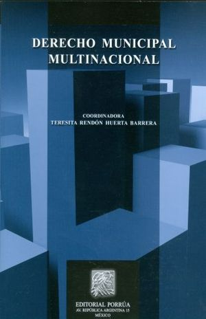 DERECHO MUNICIPAL MULTINACIONAL