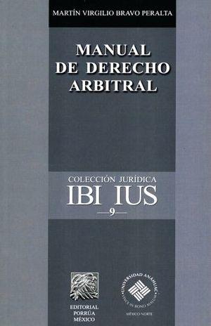 MANUAL DE DERECHO ARBITRAL
