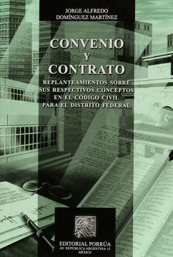 CONVENIO Y CONTRATO / 6 ED.