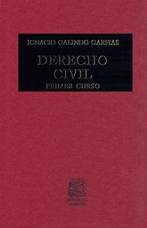 DERECHO CIVIL. PRIMER CURSO / 29 ED. / PD.