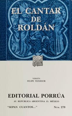# 279. EL CANTAR DE ROLDAN
