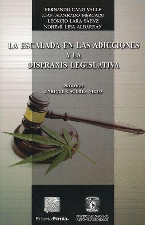 ESCALADA EN LAS ADICCIONES Y LA DISPRAXIS LEGISLATIVA, LA