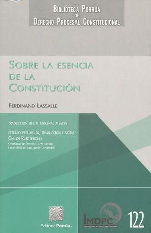 SOBRE LA ESENCIA DE LA CONSTITUCION