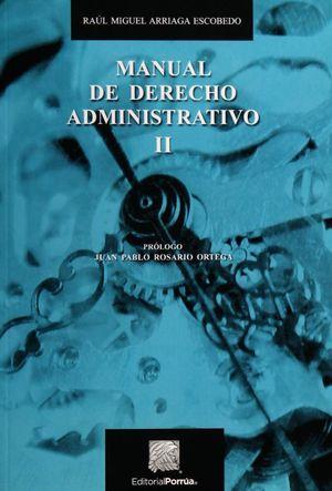 MANUAL DE DERECHO ADMINISTRATIVO II