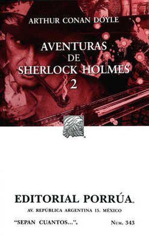 # 343. AVENTURAS DE SHERLOCK HOLMES / VOL. 2 / 13 ED.