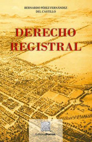 DERECHO REGISTRAL / 13 ED.
