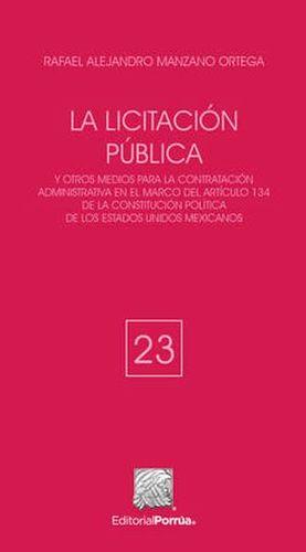LICITACION PUBLICA, LA / 2 ED.