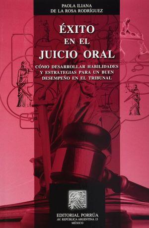 EXITO EN EL JUICIO ORAL
