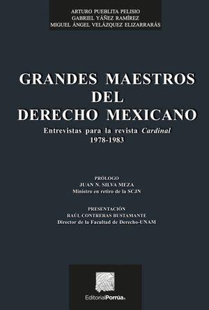 GRANDES MAESTROS DEL DERECHO MEXICANO