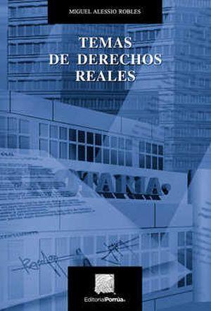 TEMAS DE DERECHOS REALES / 5 ED.