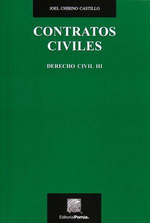 CONTRATOS CIVILES. DERECHO CIVIL III