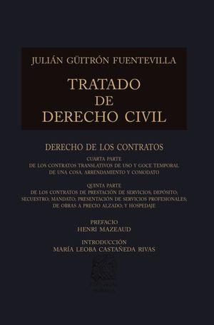 TRATADO DE DERECHO CIVIL XVIII / PD.