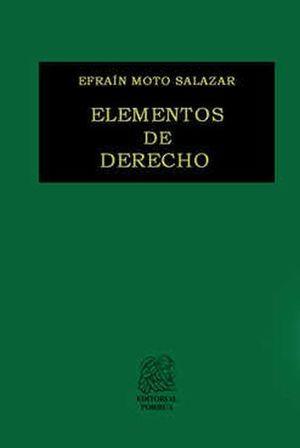 ELEMENTOS DE DERECHO / 54 ED.