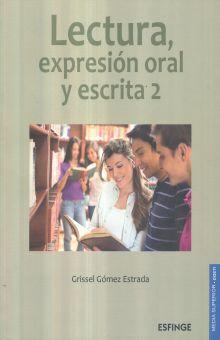 LECTURA EXPRESION ORAL Y ESCRITA 2. BACHILLERATO