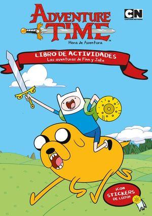 Las aventuras de Finn y Jake. Libro de actividades