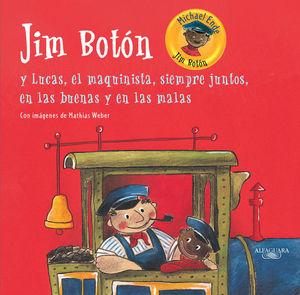 JIM BOTON Y LUCAS EL MAQUINISTA SIEMPRE JUNTOS EN LAS BUENAS Y EN LAS MALAS