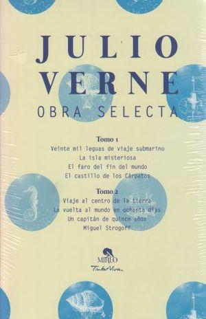 PAQ. OBRAS SELECTAS / JULIO VERNE / 2 TOMOS