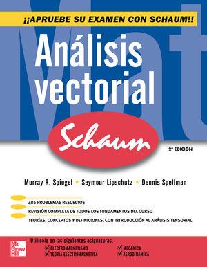 ANALISIS VECTORIAL. SCHAUM / 2 ED.