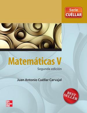 MATEMATICAS V. CUELLAR BACHILLERATO / 2 ED.