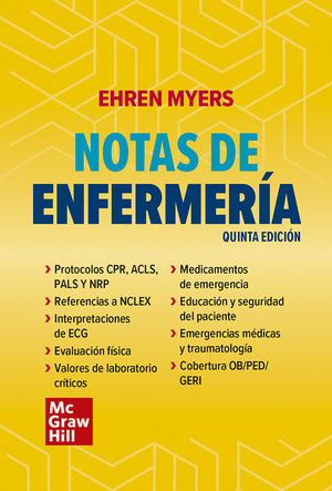 Notas de enfermería / 5 ed.