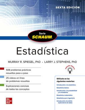 Estadística. Schaum / 6 ed.