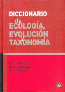 DICCIONARIO DE ECOLOGIA EVOLUCION Y TAXONOMIA / PD.
