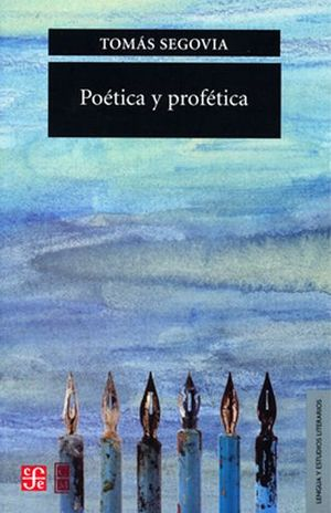 POETICA Y PROFETICA / 3 ED.
