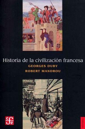 HISTORIA DE LA CIVILIZACION FRANCESA