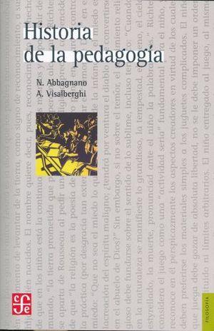HISTORIA DE LA PEDAGOGIA / 2 ED.
