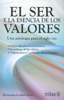 SER Y LA ESENCIA DE LOS VALORES, EL