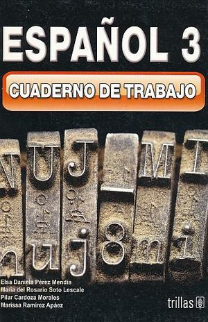 ESPAÑOL 3. CUADERNO DE TRABAJO. SECUNDARIA