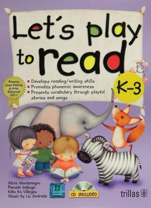 LETS PLAY TO READ K3 (INCLUYE CD)