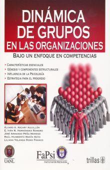 DINAMICA DE GRUPO EN LAS ORGANIZACIONES. BAJO UN ENFOQUE DE COMPETENCIAS