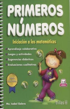 PRIMEROS NUMEROS INICIACION A LAS MATEMATICAS. PREESCOLAR / 2 ED.