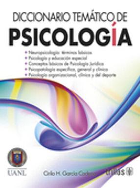 DICCIONARIO TEMATICO DE PSICOLOGIA