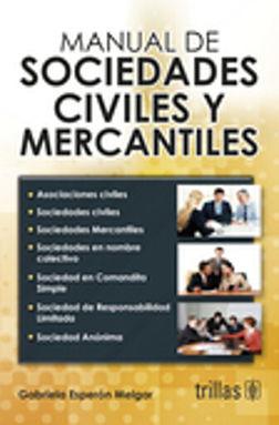 MANUAL DE SOCIEDADES CIVILES / 2 ED.