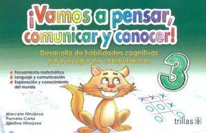 VAMOS A PENSAR COMUNICAR Y CONOCER 3