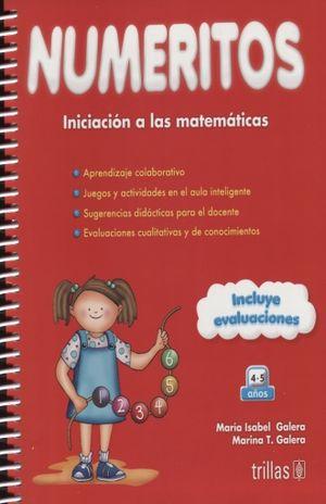NUMERITOS INICIACION A LAS MATEMATICAS. PREESCOLAR / 7 ED. (INCLUYE EVALUACIONES)