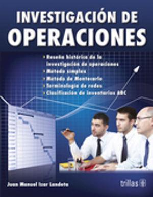 INVESTIGACION DE OPERACIONES / 2 ED.