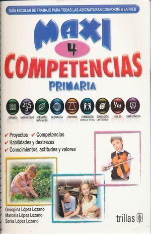 MAXI COMPETENCIAS 4. PRIMARIA