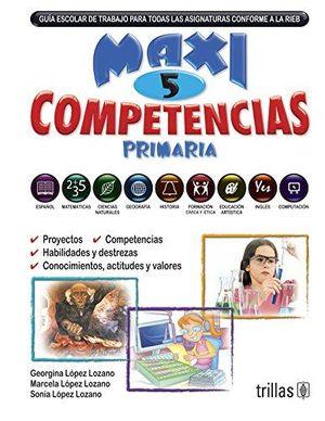 MAXI COMPETENCIAS 5. PRIMARIA