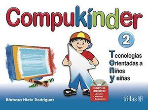 COMPUKINDER 2 TECNOLOGIAS ORIENTADAS A NIÑOS Y NIÑAS. PREESCOLAR