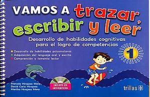 VAMOS A TRAZAR Y ESCRIBIR Y LEER 1. PREESCOLAR (INCLUYE CD)