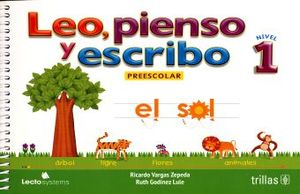 LEO PIENSO Y ESCRIBO 1. PREESCOLAR