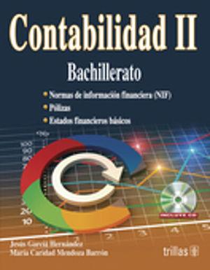 CONTABILIDAD II. BACHILLERATO (INCLUYE CD)
