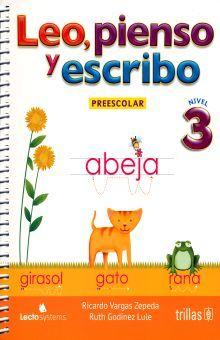 LEO PIENSO Y ESCRIBO 3. PREESCOLAR