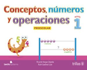 CONCEPTOS NUMEROS Y OPERACIONES 1. PREESCOLAR