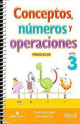 CONCEPTOS NUMEROS Y OPERACIONES 3. PREESCOLAR
