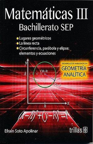 MATEMATICAS III. BACHILLERATO