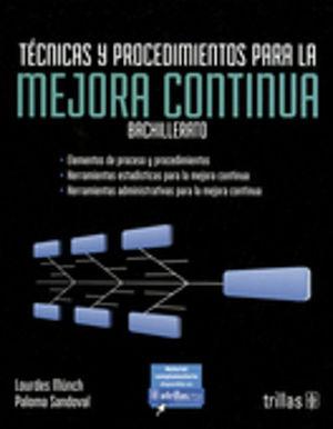 TECNICAS Y PROCEDIMIENTOS PARA LA MEJORA CONTINUA. BACHILLERATO